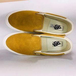 VANS OG Silp On 59 LX Honey Mustard Suede Sneakers